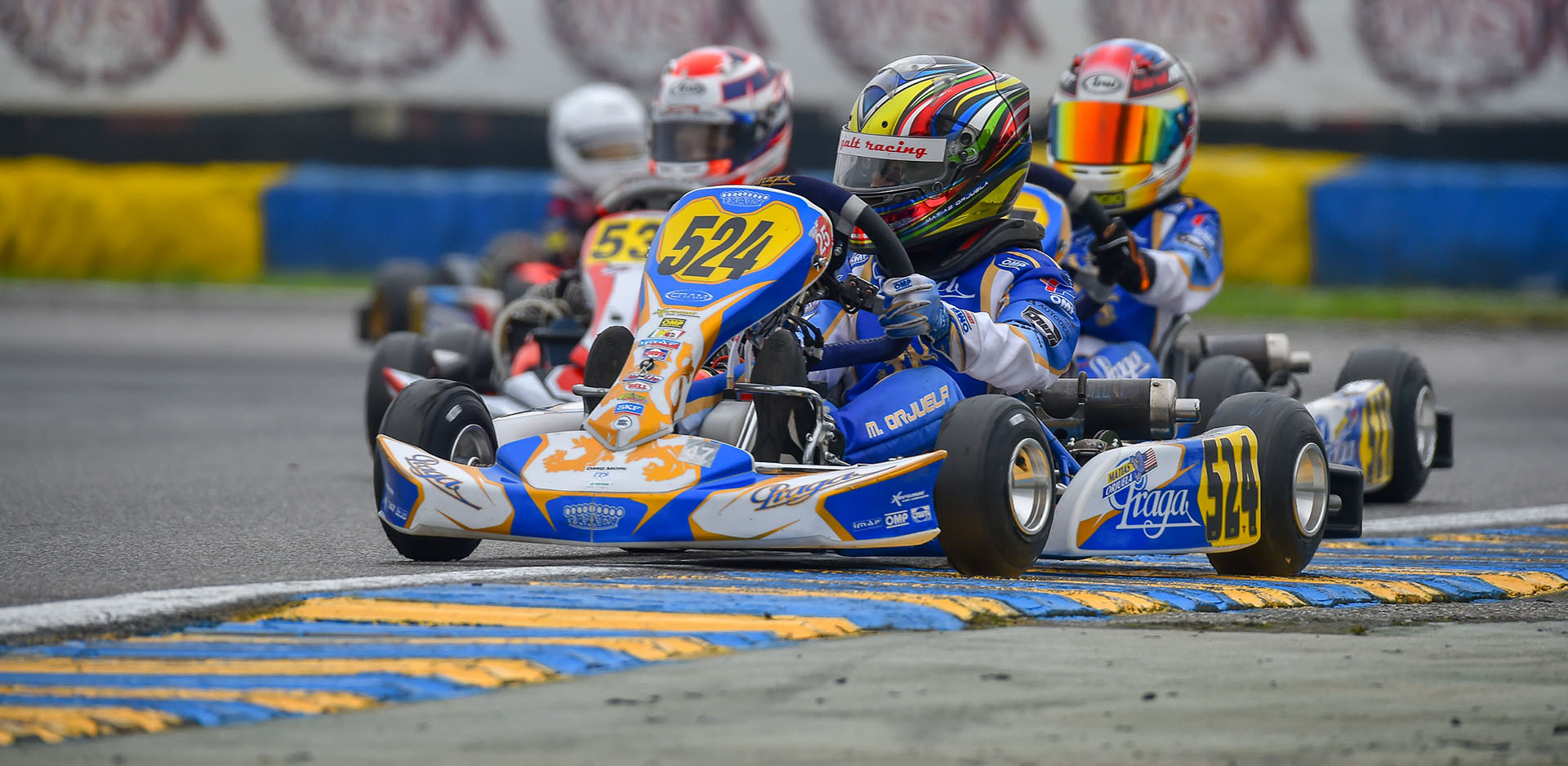 Formula K | Pole position and the podium in round 2 of the WSK Open Cup