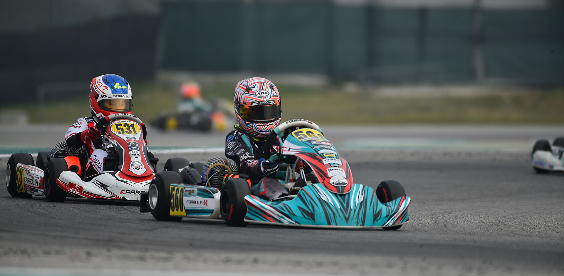Skulanov and Formula K, winners of round 1 of the WSK Master Series