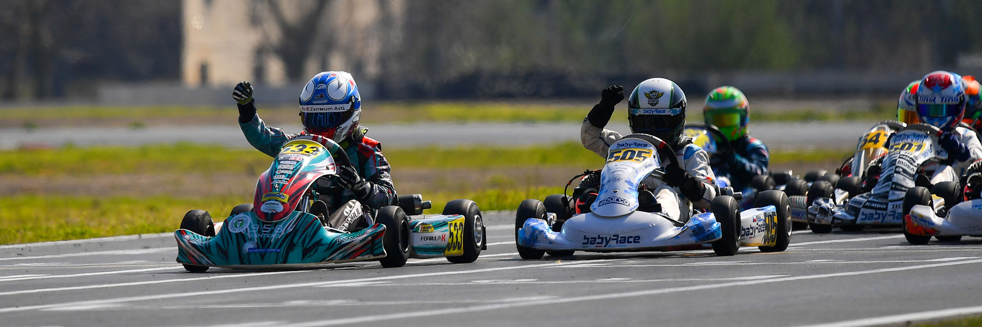 Formula K | Formula K wins round 3 of the WSK Super Master Series with Olivieri