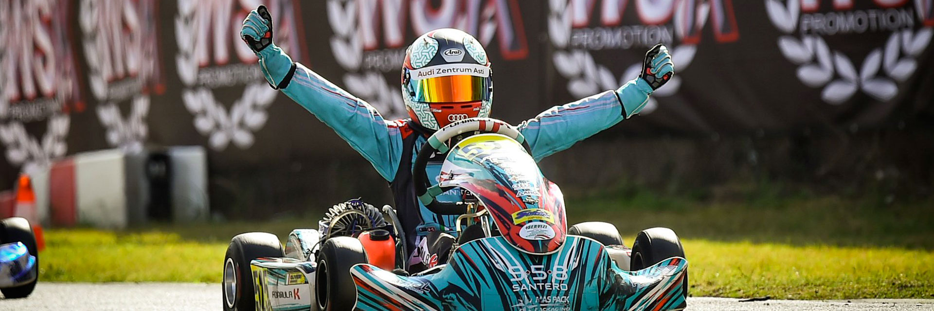 Formula K triumphs with Olivieri in round 1 of the WSK Open Cup